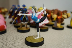 Wii fit trainerin amiibo